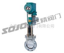 刀型闸阀:PZ273H电液动刀型闸阀