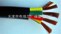 天津橡塑电缆ZR-VVRP阻燃屏蔽电缆ZR-VVR阻燃电气连接软电缆厂家