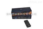 4进1出VGA音视频自动切换器LEZOA SVR104A