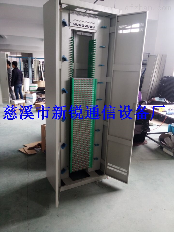 ftth432芯三网合一光纤配线架/机房网络机柜