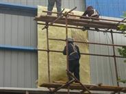 福建厦门厂房用玻璃棉卷毡现场施工
