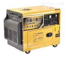 三相静音5KW柴油发电机价格
