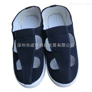 SPU防静电帆布四眼鞋 防尘鞋