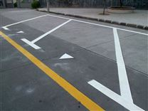 毕节地区道路标志牌安装与设计工厂供应凯里小区停车场车位划线