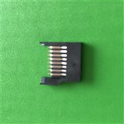 TF卡座工业连接器厂家供应TF卡座全塑简易