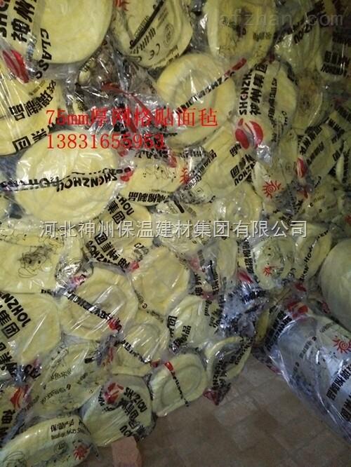 内蒙古钢结构玻璃棉毡厂家**玻璃丝棉毡价格