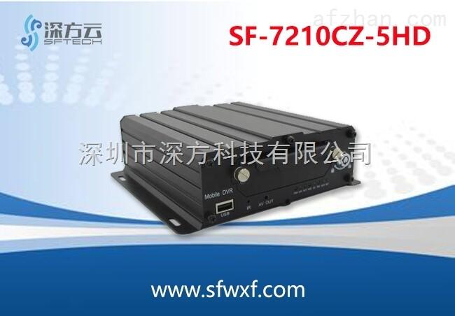 SF-7210CZ-5HD 车载5路无线传输 4G无线监控 无线远程监控