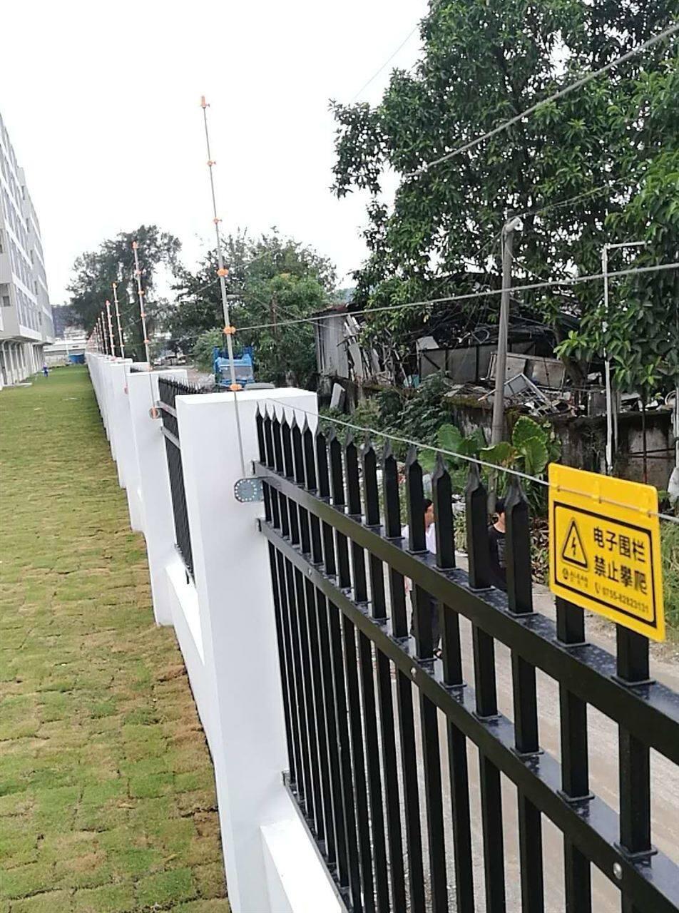 奥克斯选择 艾礼安脉冲电子围栏守护奥克斯奥信项目
