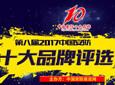 第八届2017中国安防十大品牌评选荣誉榜单