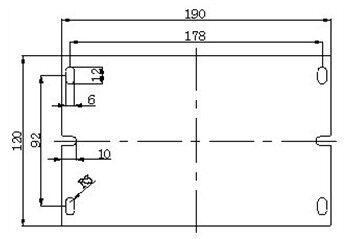 声光控应急吸顶灯接线图
