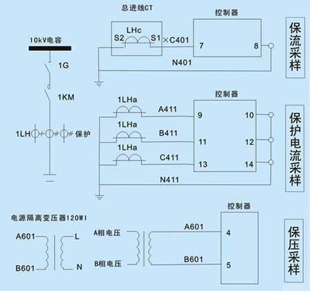xxgy-2高压无功补偿控制器