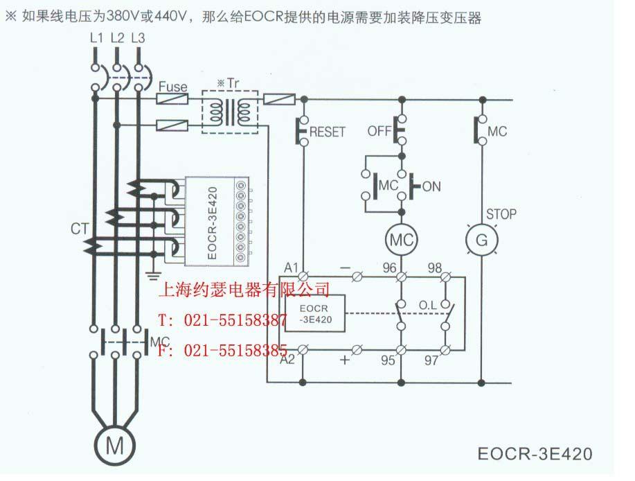 施耐德中间继电器接线图