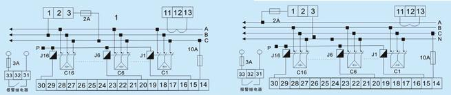rpcf-16无功功率自动补偿控制器