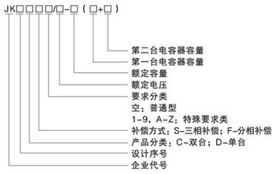 电容补偿智能控制器的接线图