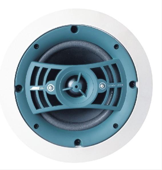 深圳市西邦[XBPA] 品牌天花喇叭,[杨声器] 介绍;  1、XBPA电动式扬声器:这种扬声器采用通电导体作音圈,当音圈中输入一个音频电流信号时,音圈相当于一个载流导体。如果将它放在固定磁场里,根据载流导体在磁场中会受到力的作用而运动的原理,音圈会受到一个大小与音频电流成正比、方向随音频电流变化而变化的力。音圈就会在磁场作用下产生振动,并带动振膜振动,振膜前后的空气也随之振动,这样就将电信号转换成声波向四周辐射。这种扬声器应用最广泛。公共广播系统.