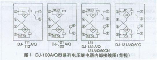 dj-131q/60cn, dj-131q/60cn电压继电器