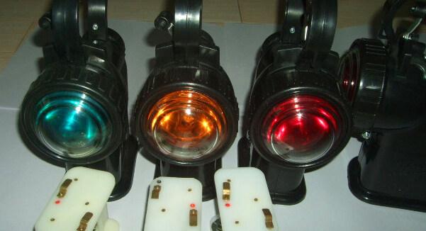 防爆电器 探照灯 手提信号灯57-4  全方位防爆电筒jw7630 手提式防爆图片